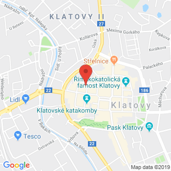 Google map: Denisova 104 Klatovy 33901
